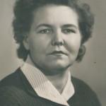 Старова Катерина Миронівна - майстер в/н, ветеран праці, випускниця училища 1950 року