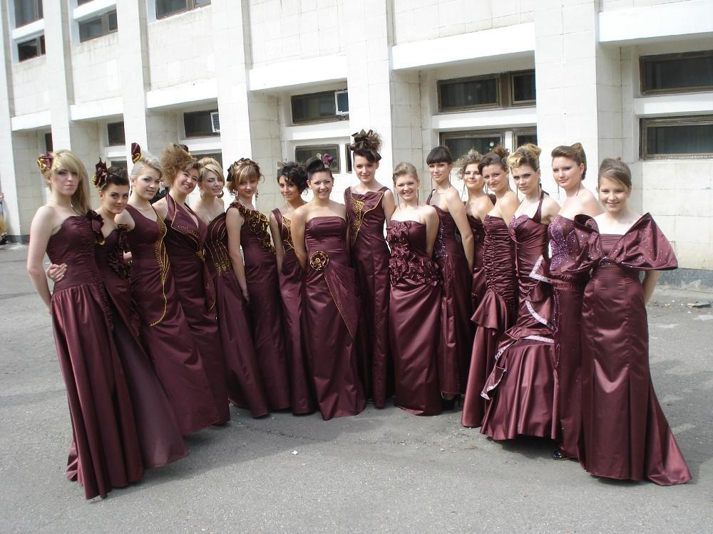 Театр мод «Шарм» з колекцією одягу «Bordo de Luxe»