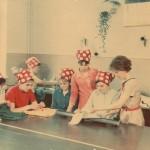 Тренувальний період групи в'язальниць трикотажних виробів, майстер в/н Реброва Світлана Степанівна, 1973 рік