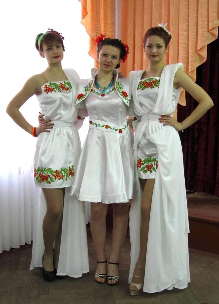 Колекція одягу у фольклорному стилі «Біла птаха» (4)