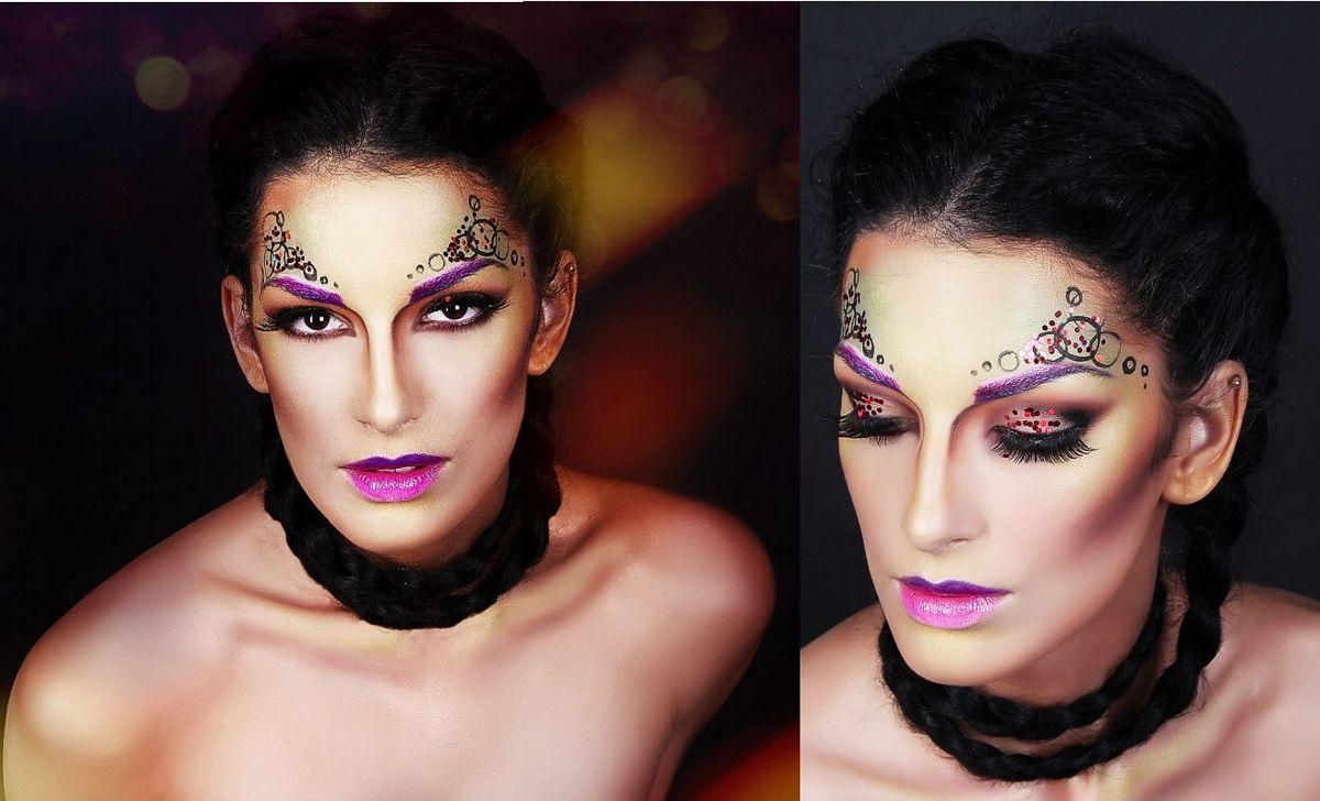 Робота Середи Олени (група 2-14) - Фантазійний макіяж
