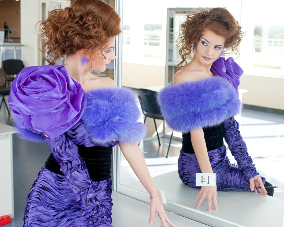 Робота Шестова Сергія, переможця в номінації «Полный модный образ  женский» (1 місце)