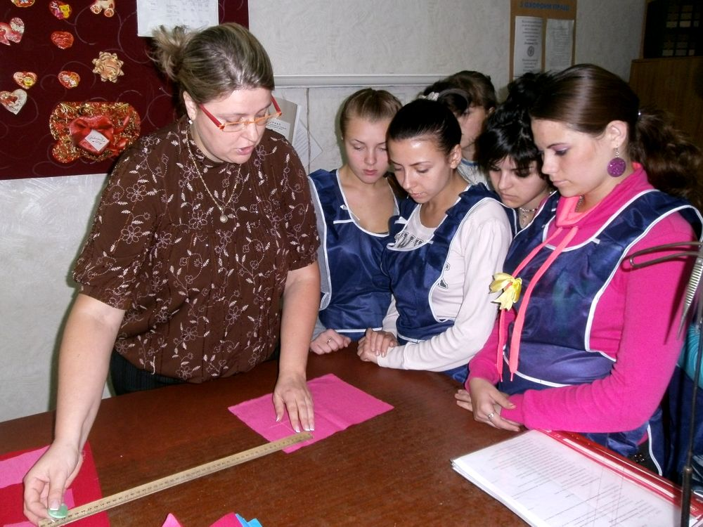 Урок производственного обучения по профессии «Портной», майстер п/о Смолина Н.Ю.
