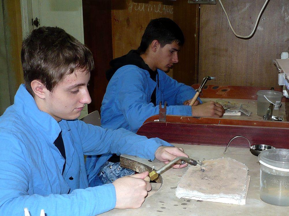 Урок виробничого навчання з професії «Ювелір» (1)