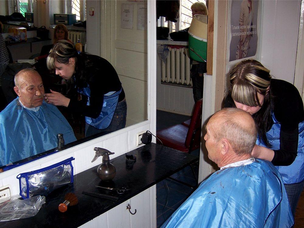 Надання перукарських послуг учаснику Великої Вітчизняної війни