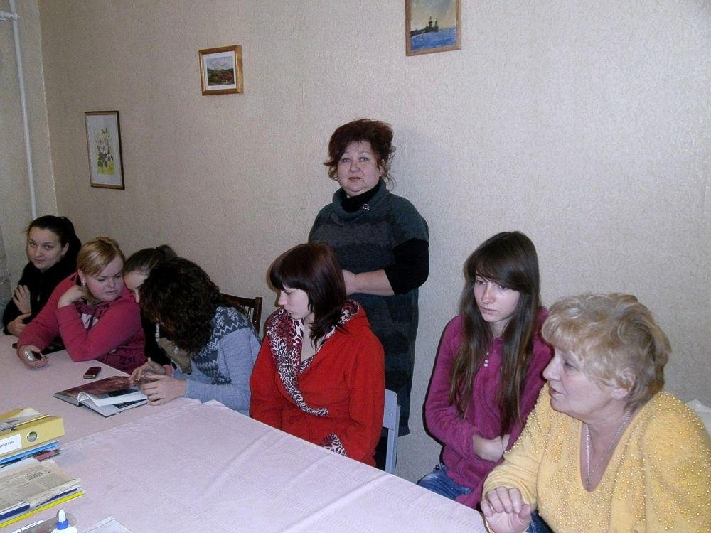 Бібліотечний урок «Чорнобиль - біль душі людської» в ХВПУ СП (1)
