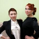 Бірбасова Дар'я з моделлю