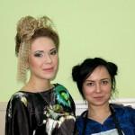 Шулєпова Анастасія з моделлю