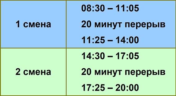 розклад дзвінків_ВН_рус