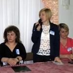 Привітання учасників членом журі Басовою Іриною Іванівною