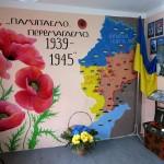 Оновлена експозиція кімнати бойової слави в училищі