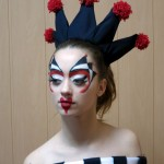 """Робота Безкібальної Наталії - подіумний макіяж """"Шахова королева"""""""